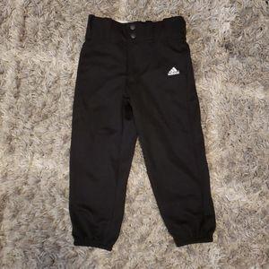 Adidas youth baseball softball pants XS 4/5
